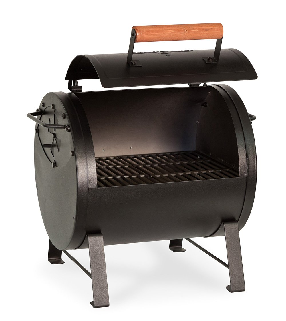 Char-Griller 2-2424 Table Top Charcoal Grill and Side Fire ...