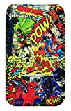 HTC One M8, Comic Hero Sticker design Mobile Phone Neoprene Case, Cover, Pouch Sock Holder