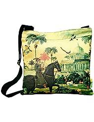 Eco Corner Women's Sling Bag (Multi-Coloured) (2885)