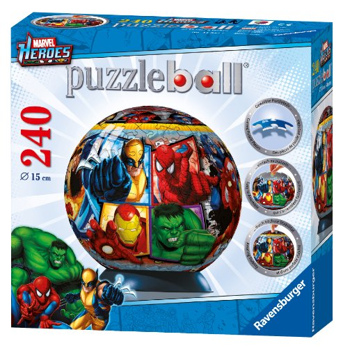 Cheap Fun Ravensburger Marvel Heroes – 240 Pieces Puzzleball (B004ID76SY)