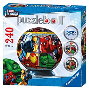 Ravensburger Marvel Heroes - 240 Pieces Puzzleball