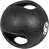 Gorilla Sports Médecine ball double poignée