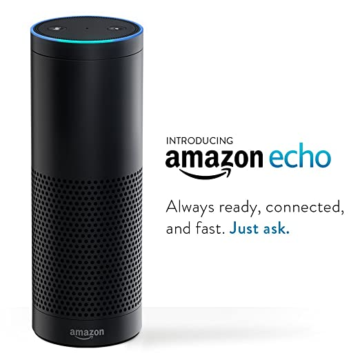 Amazon Echo: Always Ready, Connected, and Fast.