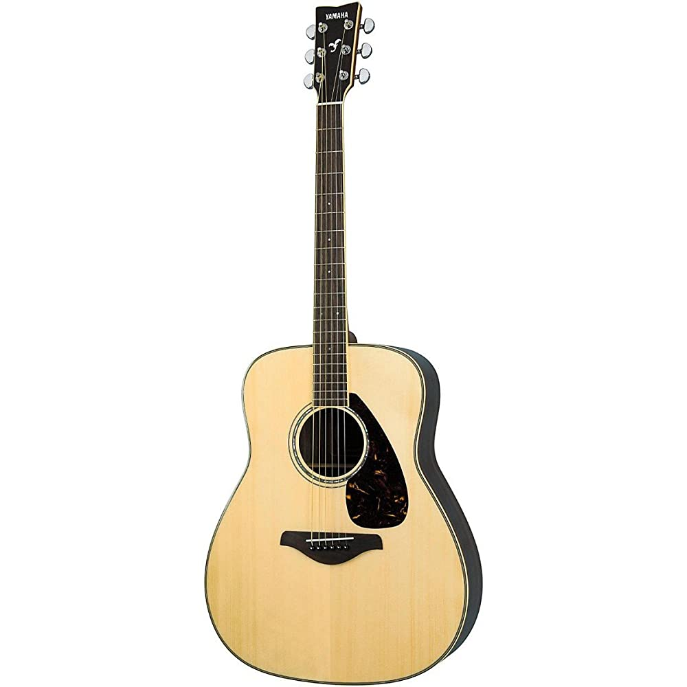 Yamaha FG730S Solid Top Acoustic Guitar - best beginner guitar under 300