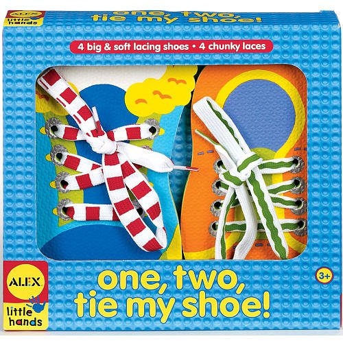 Alex Toys Little Hands, One, Two, Tie My Shoe!