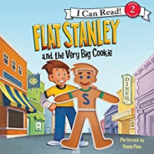 Flat Stanley and the Very Big Cookie (       UNABRIDGED) by Jeff Brown Narrated by Vinnie Pena