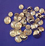 Metal Self Cover Buttons Size 38 mm 5 Buttons For £685