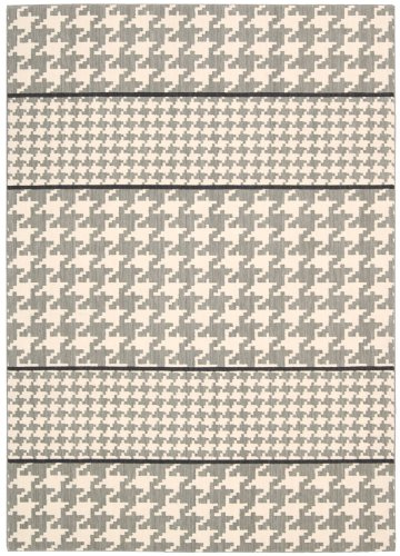 Joseph Abboud GRI03 Griffith Rectangle Machine Made Rug, 2.3 by 7.5-Feet, Dove