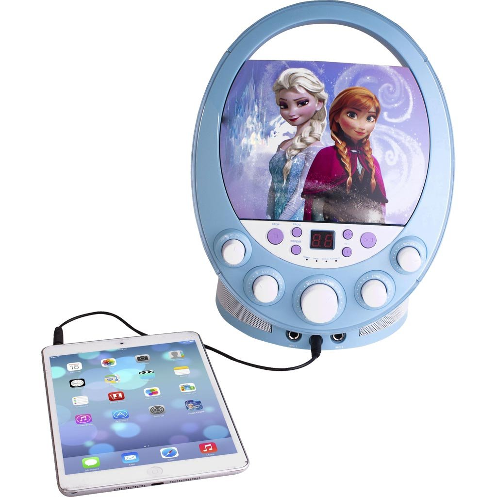 Frozen Karaoke Machine With Flashing Lights The Review Stew