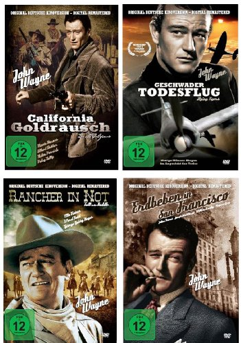 John Wayne - The very Best of Collection [4 DVDs]
