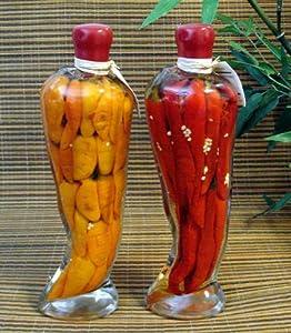 Amazon.com : Set of 2 Italian Kitchen Decor Decorative Pepper Shapped