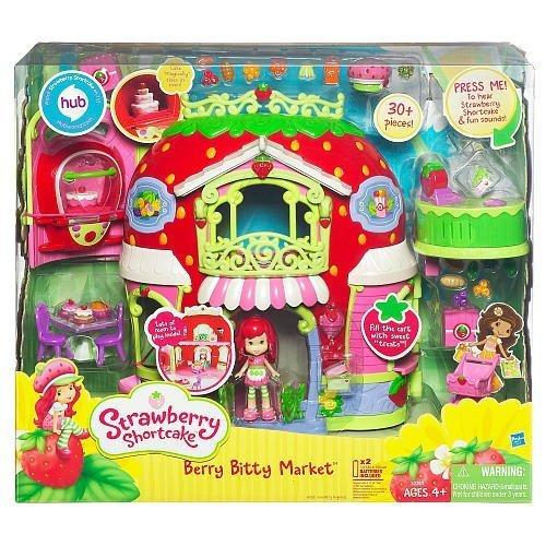 Strawberry Shortcake Berry Bitty Market Playset by Hasbro
