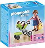 Playmobil 5491 City Life Mother with Infant Stroller