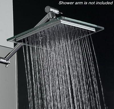 """Akdy Bathroom Chrome Shower Head 8"""" Az6021 Rain Style from AKDY"""