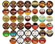 Variety Flavored Coffee 40 Count (Pack of 2) -Jumbo Pkg Total of 80-Single Serve Variety Cups For Keurig K cup Brewers