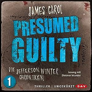 Presumed Guilty Hörbuch