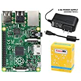 CanaKit Raspberry Pi B+ Basic Kit (Raspberry Pi B Plus + 2.5A Micro USB Power Supply)