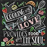 Cooking with Love Provides Food for the Soul 2019 Wall Calendar