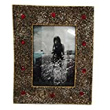Antique Photo Frame Home Decor Table Top Vintage Style Decorative Lac Beaded Material 5 X 7 Handcrafted Picture...