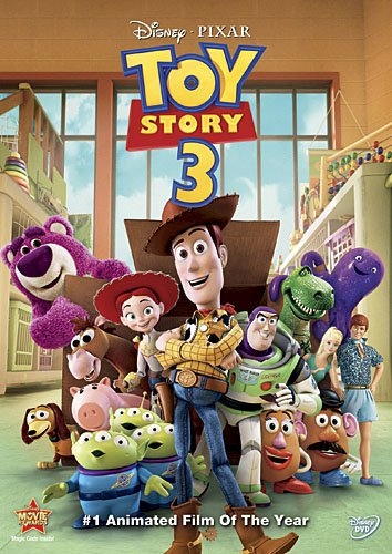 DVD : Toy Story 3 (, Dubbed, Dolby, AC-3, Widescreen)