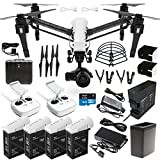 DJI-Inspire-1-PRO-Dual-Remote-Drone-Quad-Copter-DREAM-COMBO-includes-DJI-Charging-Hub-4X-TB48-battery-180W-Rapid-Charger-Battery-Heater-Surmik-Prop-Guards-W-4K-camera-Gimbal-carrying-case