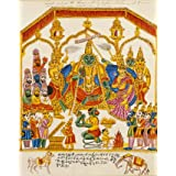 The Coronation of Rama and Sita in their capital (Print On Demand)