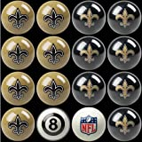 NFL New Orleans Saints Billiards Ball Set