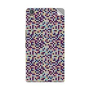 Garmor Designer Mobile Skin Sticker For Lava Iris X1 Grand - Mobile Sticker