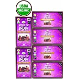 Pride Of India - Organic Slim & Detox Weight Loss Tea, 25 Tea Bags - 6 Pack (BUY 2 - GET 1 FREE AT CHECKOUT -...
