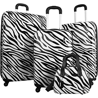 Click to buy Travel Concepts Safari 4 Piece Luggage Set from Amazon!