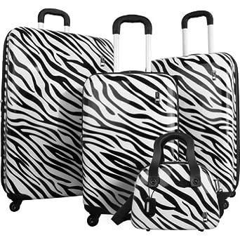 Travel Concepts Safari 4 Piece Luggage Set