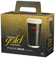 Muntons Gold 40 Pint Beerkit, Imperial Stout, 102-Ounce Box
