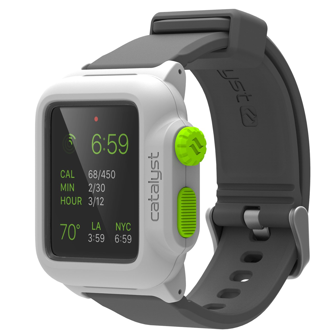 Top 20 Best Apple Watch Cases List And Reviews 2016 2017 On Spigen Tough Armor 2 Case For 42mm Series 3 Silver Catalyst Water Proof Shock Resistant 1 Green Pop
