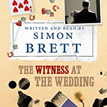 The Witness at the Wedding (       UNABRIDGED) by Simon Brett Narrated by Simon Brett
