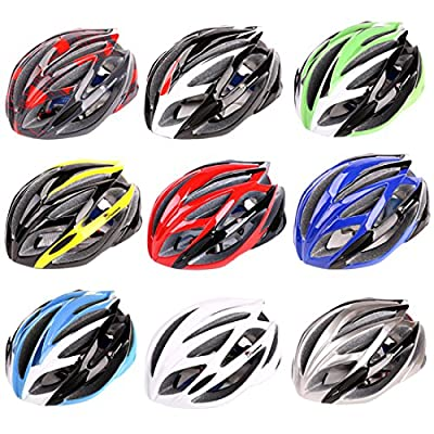 Mountaintop® Cycling MTB Road Bicycle Helmet Riding Cycling Equipment Male and Female Models (Head Circumference 54-64cm and the Head-width Below 18cm) Unisex Breathable Helmet Multi Colours from Mountaintop