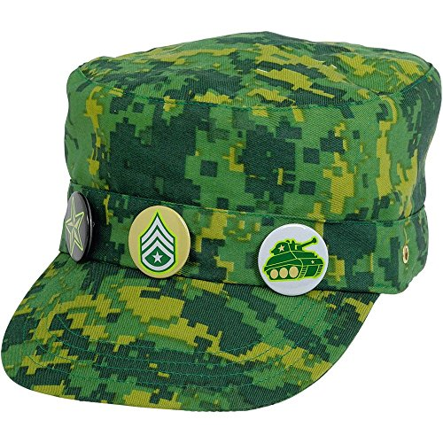 hat deluxe camouflage