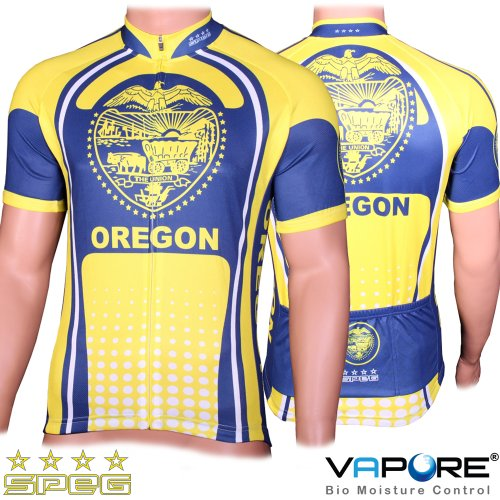 SPEG Oregon State Cycle Cycling Jersey USA Bike Shirt - RRP $80.99