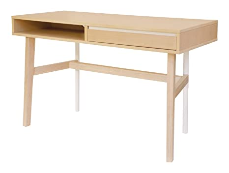 Altassina SKE06004 Soft Bureau Chêne Chêne 130 x 36 x 21 cm