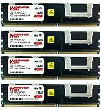 KOMPUTERBAY 16GB (4X4GB) Certified Memory for Compaq HP ProLiant DL360 G5 DDR2 667MHz FBDIMM