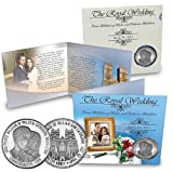 Prince William & Kate Silver Plated Royal Wedding Coin