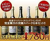 ワインセット 夢の6本揃い踏み コスパ最強辛口スパークリングワイン6本セット 第89弾