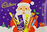 Cadbury Christmas Chocolate Selection Medium Box 155 g (Pack of 8)