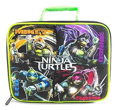Nickelodeon Teenage Mutant Ninja Turtles Lunch Box (Green) by Nickelodeon