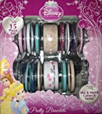 Disney Princess Elegant Pretty Bracelets 15 Piece Set