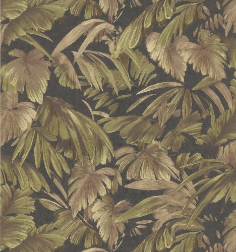 brewster-402-42859-kitchen-and-bath-resource-ii-jungle-leaf-wallpaper-205-inch-by-396-inch-black-by-