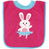 Luvable Friends Pullover Feeder Bib, Little Pink Bunny