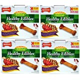 Nylabone Roast Beef /Chicken Variety 136ct Pantry Pack Petite (4x34ct)