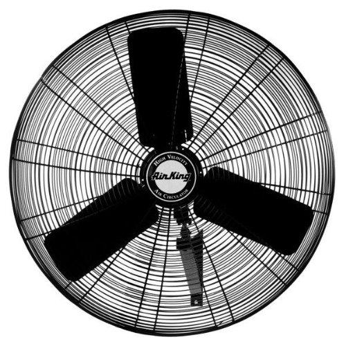 Air King 9024 1/4 HP Industrial Grade Wall Mount Fan, 24-Inch
