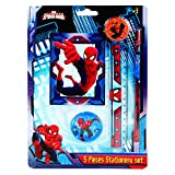Disney / Marvel 5pc Stationery sets (Spiderman)