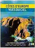 Tour d'europe du littoral vu du ciel